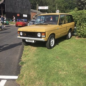 Range Rover Classic 2 door Body off Restorati