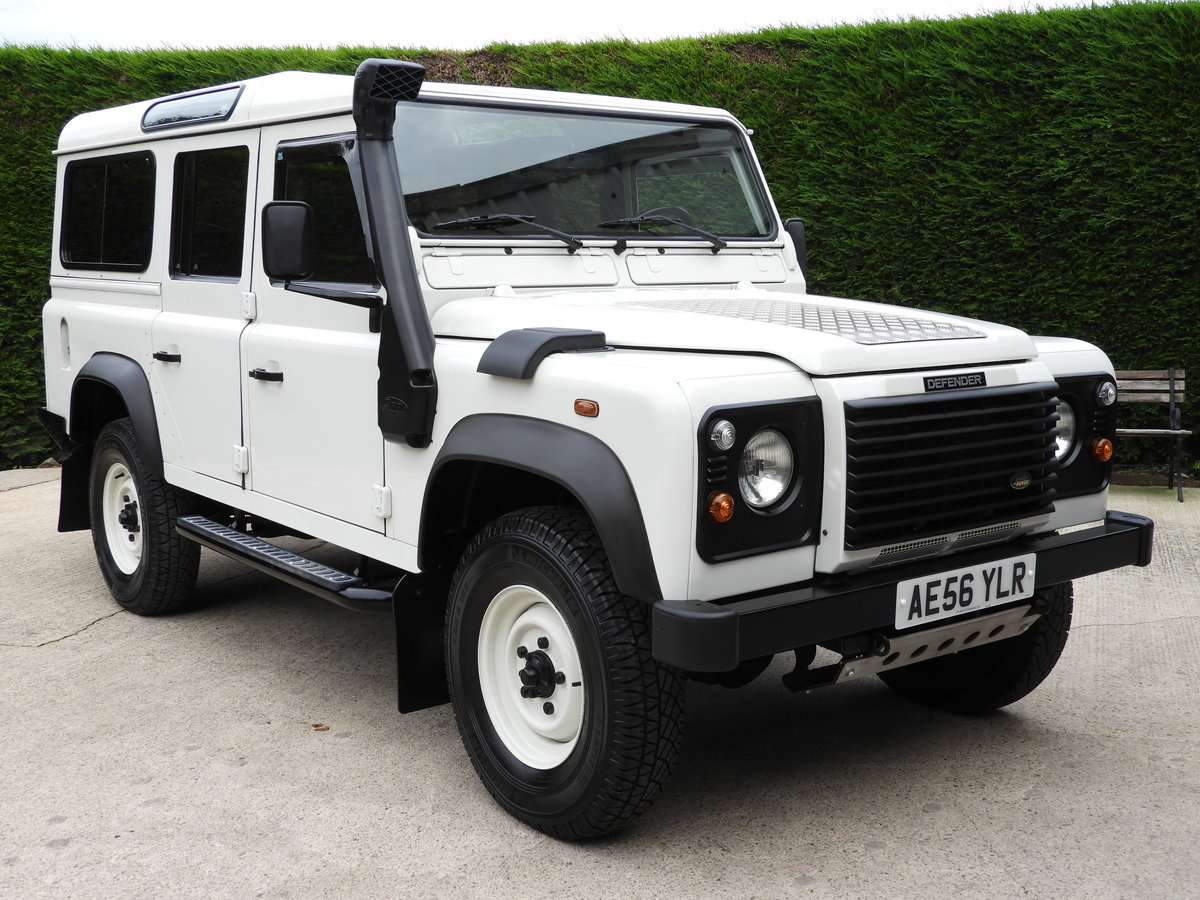 2006 LAND ROVER DEFENDER 110 300TDI LHD REST OF WORLD ! For Sale (picture 1 of 6)