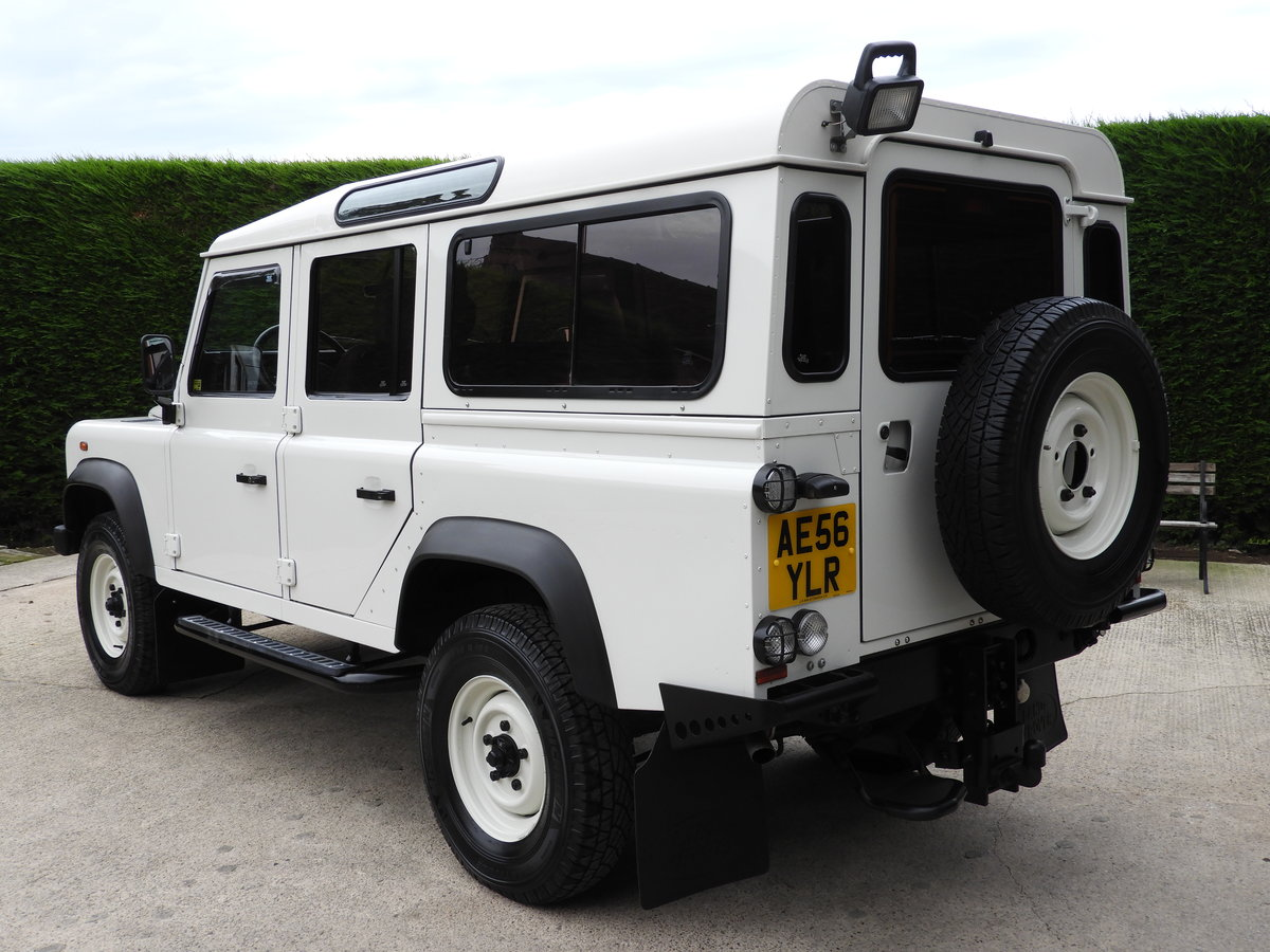 2006 LAND ROVER DEFENDER 110 300TDI LHD REST OF WORLD ! For Sale (picture 4 of 6)