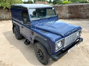 Picture of 2012 Defender 90 2.2TDCi hardtop in rare Tamar Blue SOLD