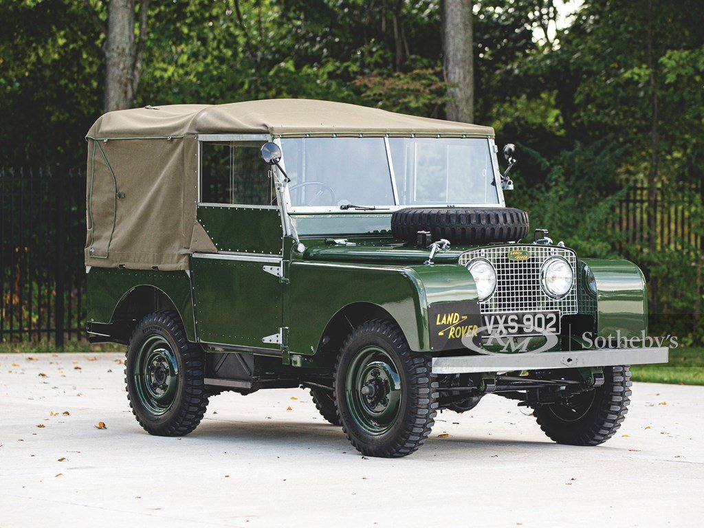 """1950 Land Rover Series I SWB """"Car Zero""""  For Sale by Auction (picture 1 of 6)"""
