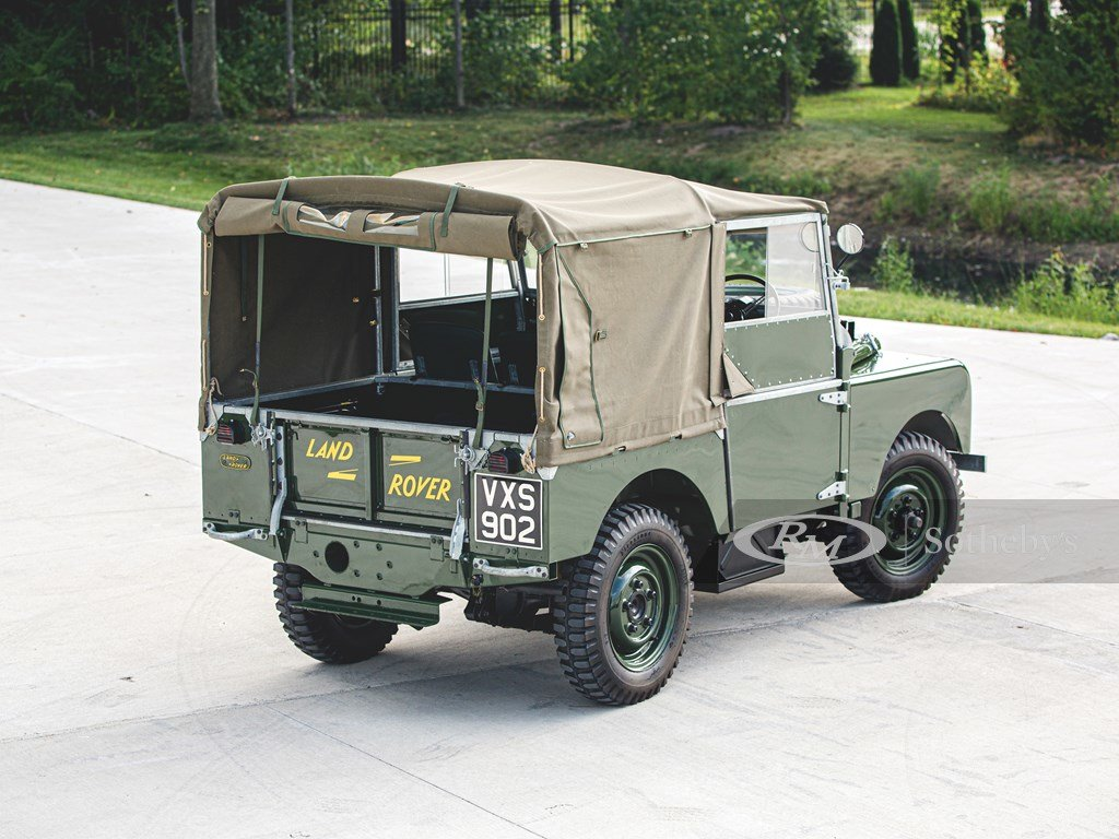 """1950 Land Rover Series I SWB """"Car Zero""""  For Sale by Auction (picture 2 of 6)"""