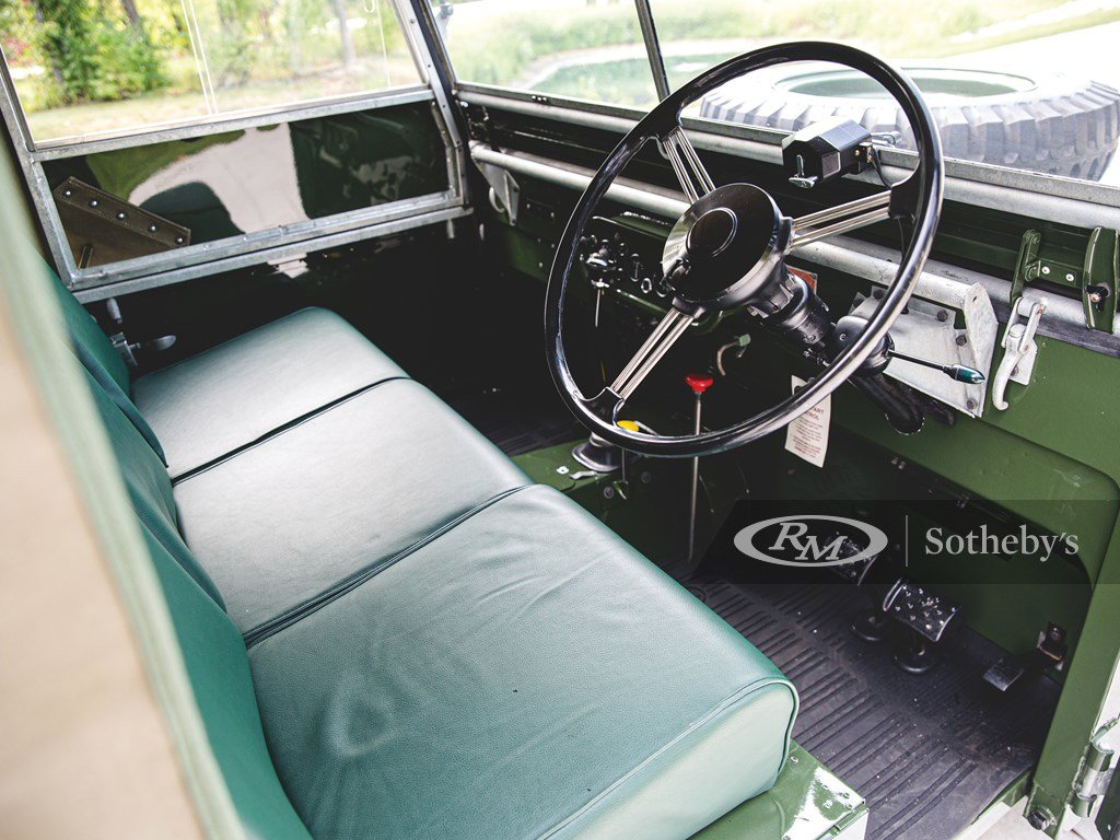 """1950 Land Rover Series I SWB """"Car Zero""""  For Sale by Auction (picture 4 of 6)"""