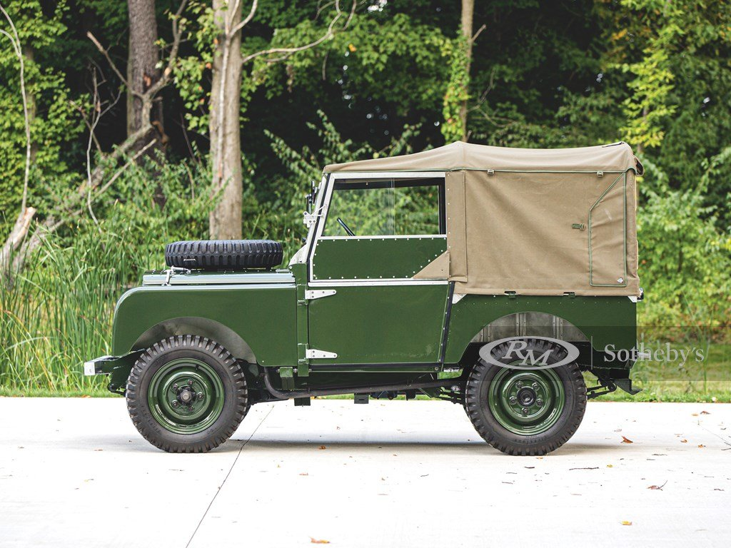 """1950 Land Rover Series I SWB """"Car Zero""""  For Sale by Auction (picture 5 of 6)"""