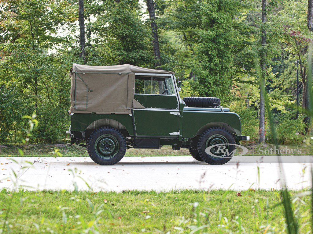 """1950 Land Rover Series I SWB """"Car Zero""""  For Sale by Auction (picture 6 of 6)"""