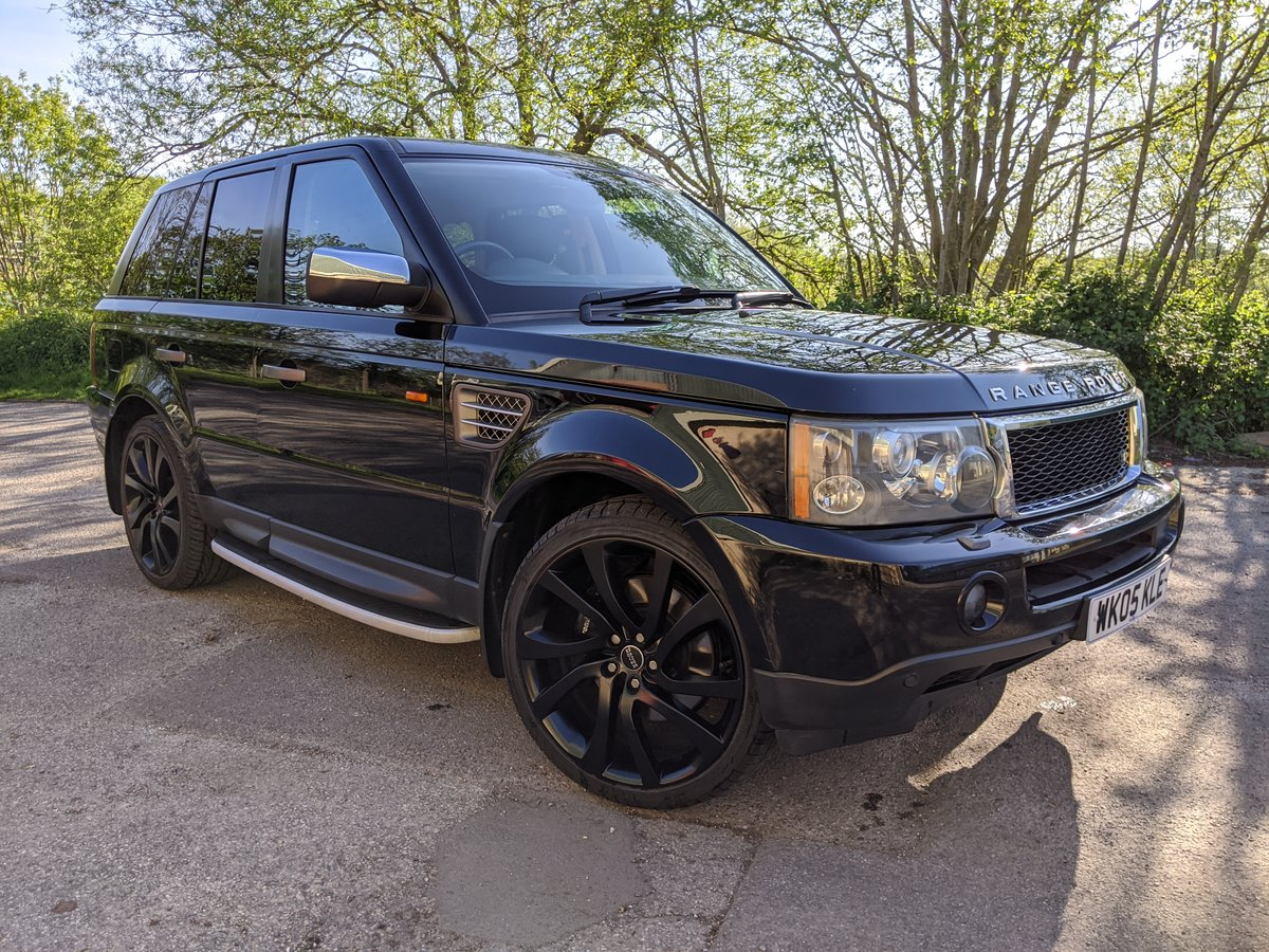 2005 REDUCED PRICE - Supercharged Range Rover Sport V8  For Sale (picture 1 of 6)