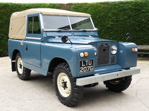 "1969 LAND ROVER SERIES 2A 88"" SOFT TOP P/UP FULLY RESTORED"