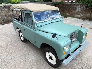 1969 Series IIa 88in petrol soft top+nice older restoration