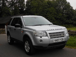 2007 Land Rover Freelander 2.2 TD4 GS New Shape 5Dr SOLD