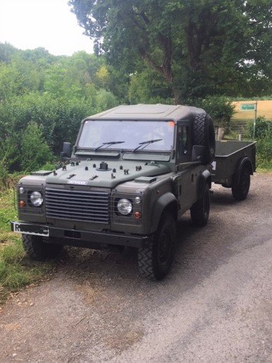 1998 Land Rover Defender Wolf For Sale (picture 1 of 6)