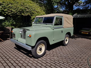 1965 Landrover series 2a galvanised chassis