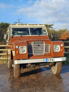 1982 Land Rover Series III County 88 station wagon
