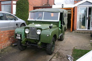 "1954 Landrover series 1 88"" nut and bolt restoration"