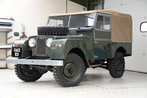 "1958 Land Rover Series 1 88""  For Sale"