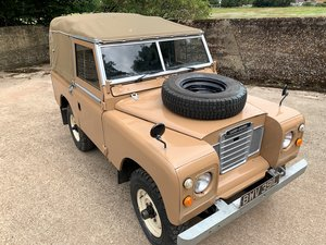 Picture of 1972 smart 1973 Series III 88in diesel soft top SOLD