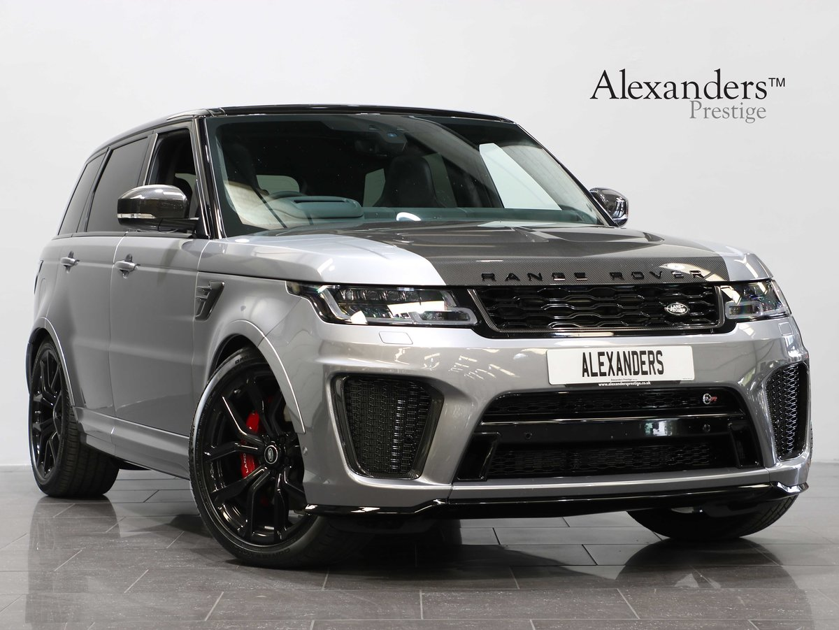 2020 20 20 RANGE ROVER SPORT SVR 5.0 V8 AUTO For Sale (picture 1 of 6)