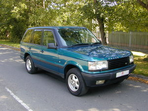 1999 RANGE ROVER P38 4.0 SE RHD - COLLECTOR QUALITY!