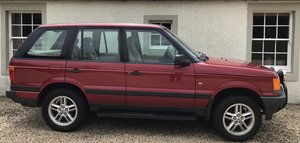 1997 Range Rover Immaculate, low mileage, two owners