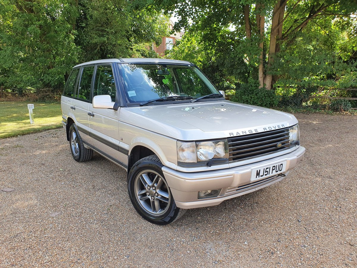 2001 Range Rover 4.0 V8 Westminster edition For Sale (picture 1 of 6)