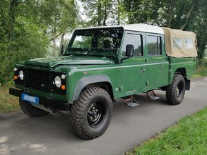 LHD 1995 Defender 130 300 Tdi in Conisten Green For Sale