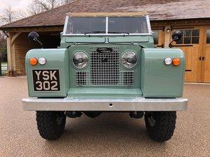 1962 Landrover Series 2 Fully Restored