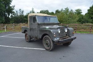 1955 Land Rover Series I 86inch