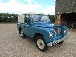 Series 3 , 2.25 Petrol  ,Hard Top , Marine Blue.