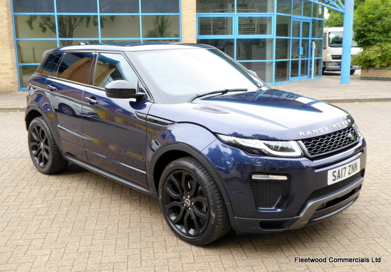 2017 LAND ROVER RANGE ROVER EVOQUE 2.0 TD4 HSE DYNAMIC 5D 180 BHP For Sale (picture 1 of 6)