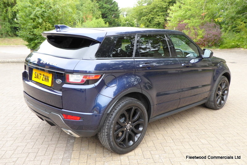 2017 LAND ROVER RANGE ROVER EVOQUE 2.0 TD4 HSE DYNAMIC 5D 180 BHP For Sale (picture 2 of 6)