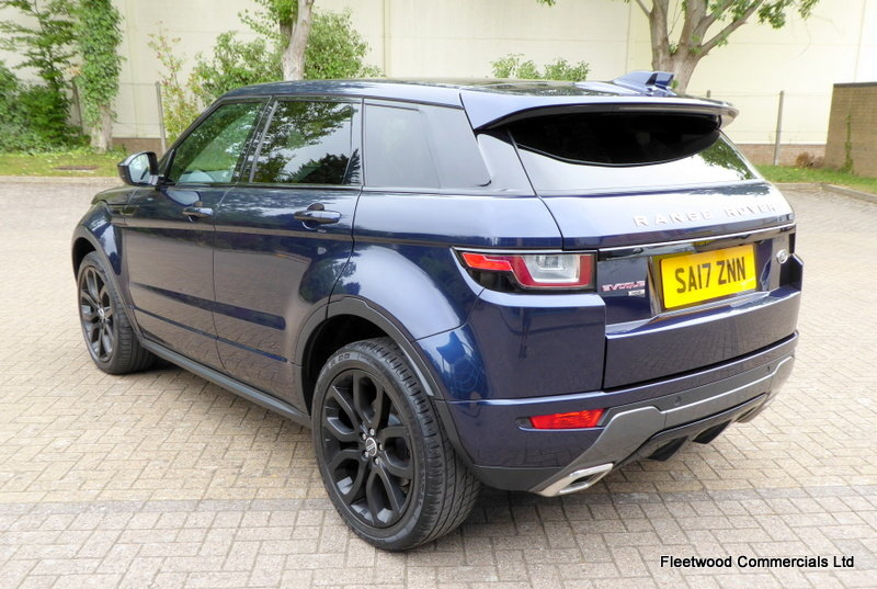 2017 LAND ROVER RANGE ROVER EVOQUE 2.0 TD4 HSE DYNAMIC 5D 180 BHP For Sale (picture 3 of 6)