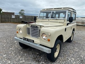 1971 Land Rover® Series 3 *Galvanised Chassis Station Wagon*(PLN) For Sale