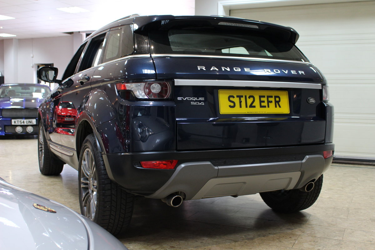 2012 Range Rover Evoque 2.2 SD4 Prestige Auto | FSH SOLD (picture 2 of 10)
