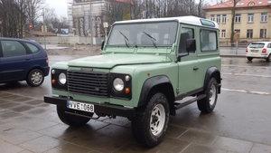 1998 Land Rover DEFENDER 90 LHD HERITAGE GREEN
