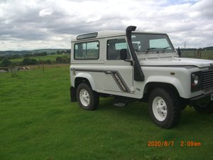 2000 Land Rover defender 90 SWB