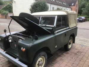 1960 Series 2 with 200TDi and Galvanised bulkhead