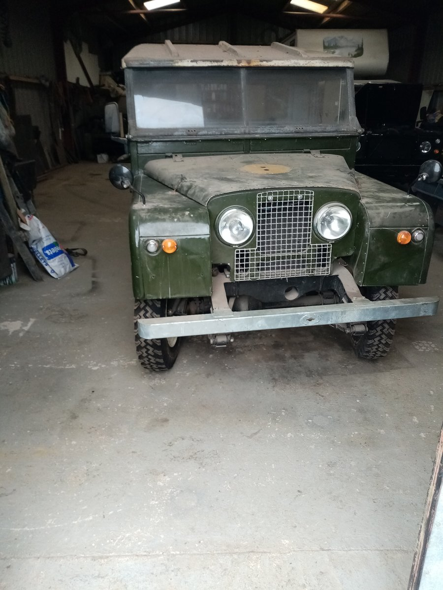 1957 land rover series 1 For Sale (picture 1 of 6)