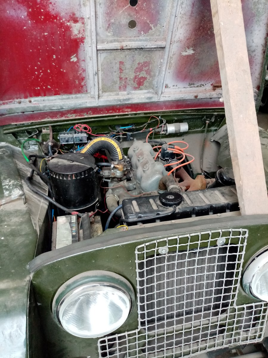 1957 land rover series 1 For Sale (picture 3 of 6)