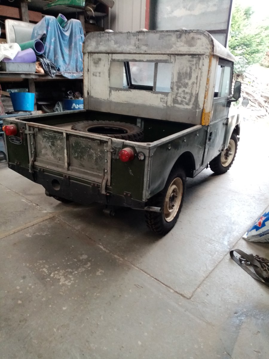 1957 land rover series 1 For Sale (picture 6 of 6)