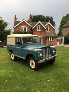 "1980 Land Rover Series 3 88"" Hardtop"