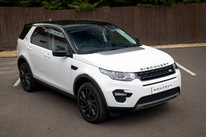 2017/67 Land Rover Discovery Sport 2.0 TD4 180 HSE Black