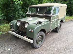 Picture of 1957 Land Rover Series 1 - X Home Office SOLD
