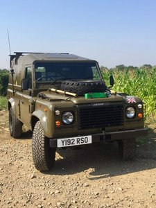 1990 Land Rover 110 - Ex MOD SOLD