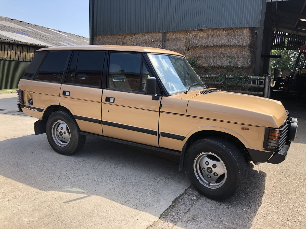 1982 Range Rover Classic 'In Vogue' Ltd Edition For Sale (picture 1 of 6)