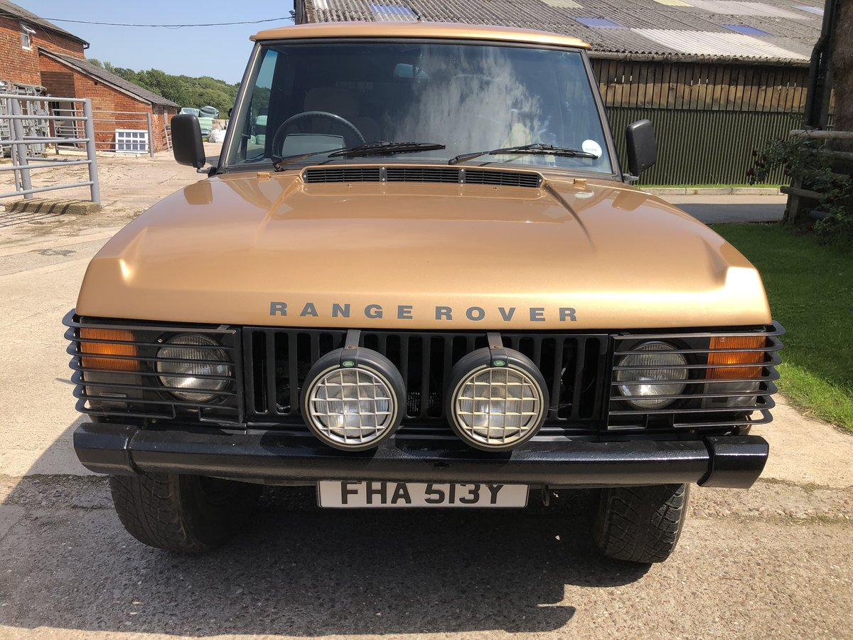 1982 Range Rover Classic 'In Vogue' Ltd Edition For Sale (picture 2 of 6)
