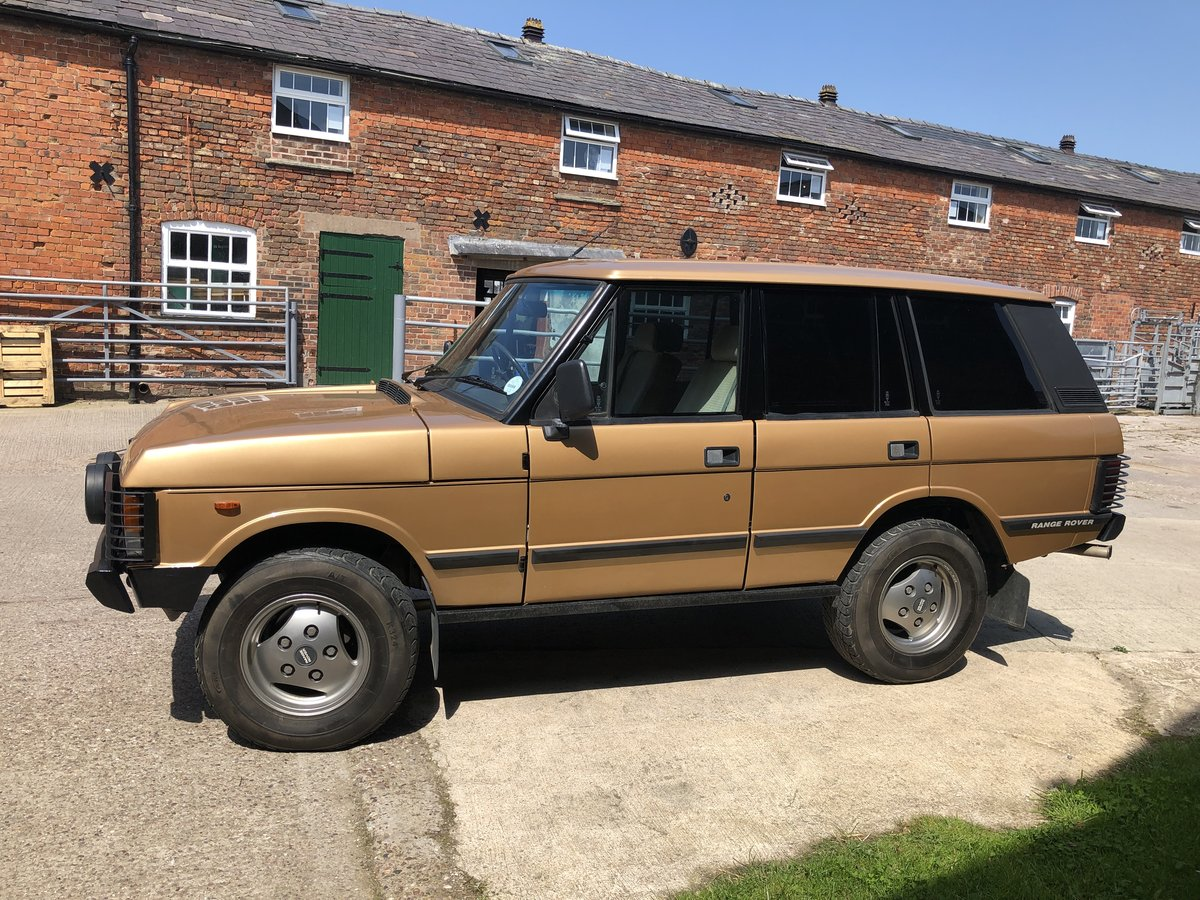1982 Range Rover Classic 'In Vogue' Ltd Edition For Sale (picture 3 of 6)