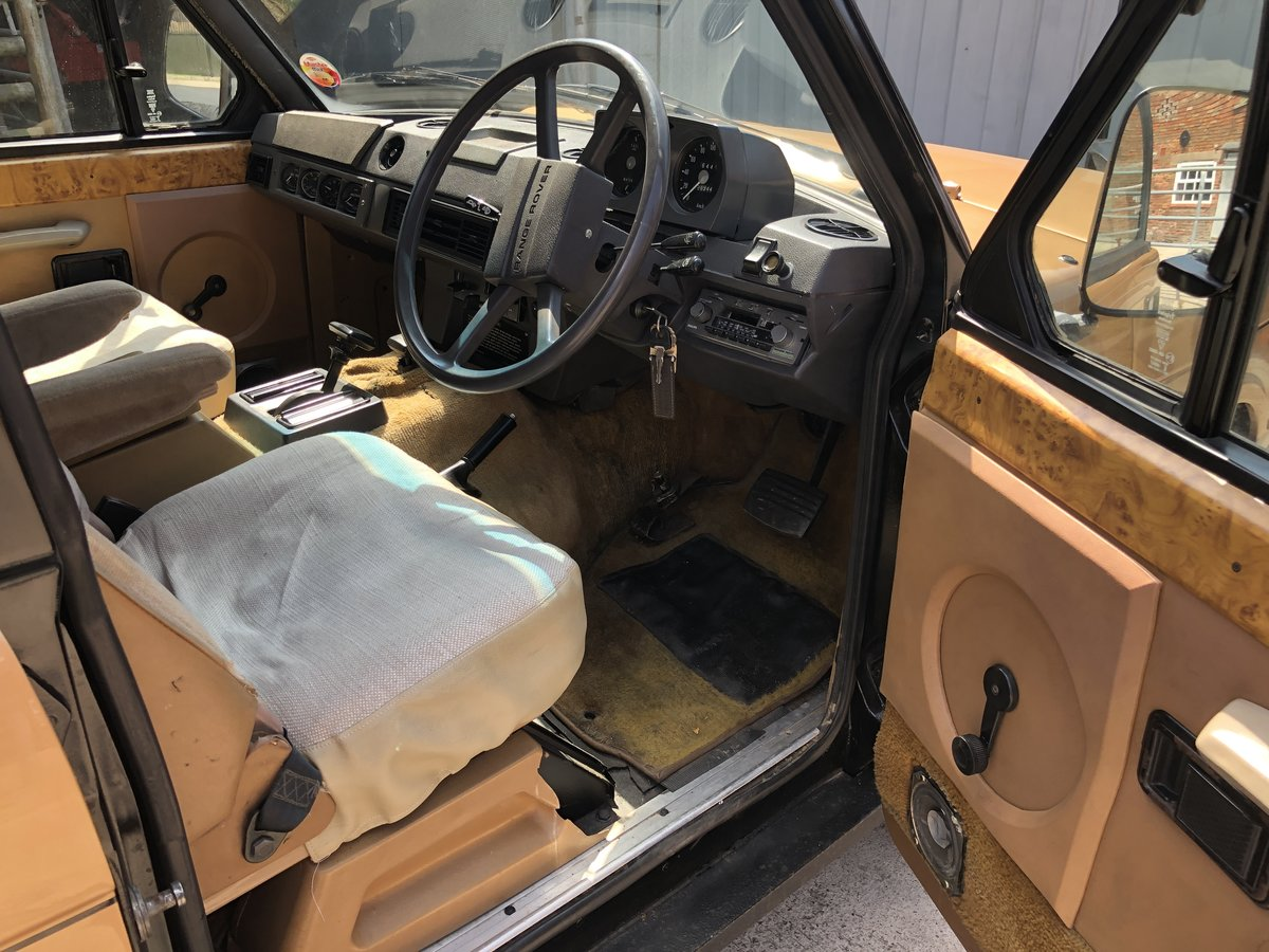 1982 Range Rover Classic 'In Vogue' Ltd Edition For Sale (picture 4 of 6)