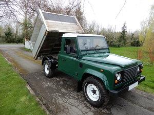 2005 Land Rover Defender 110 Tipper For Sale