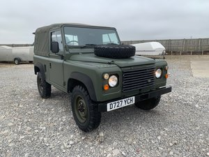 Land Rover® 90 *Ex-Military Ragtop* (YCH)