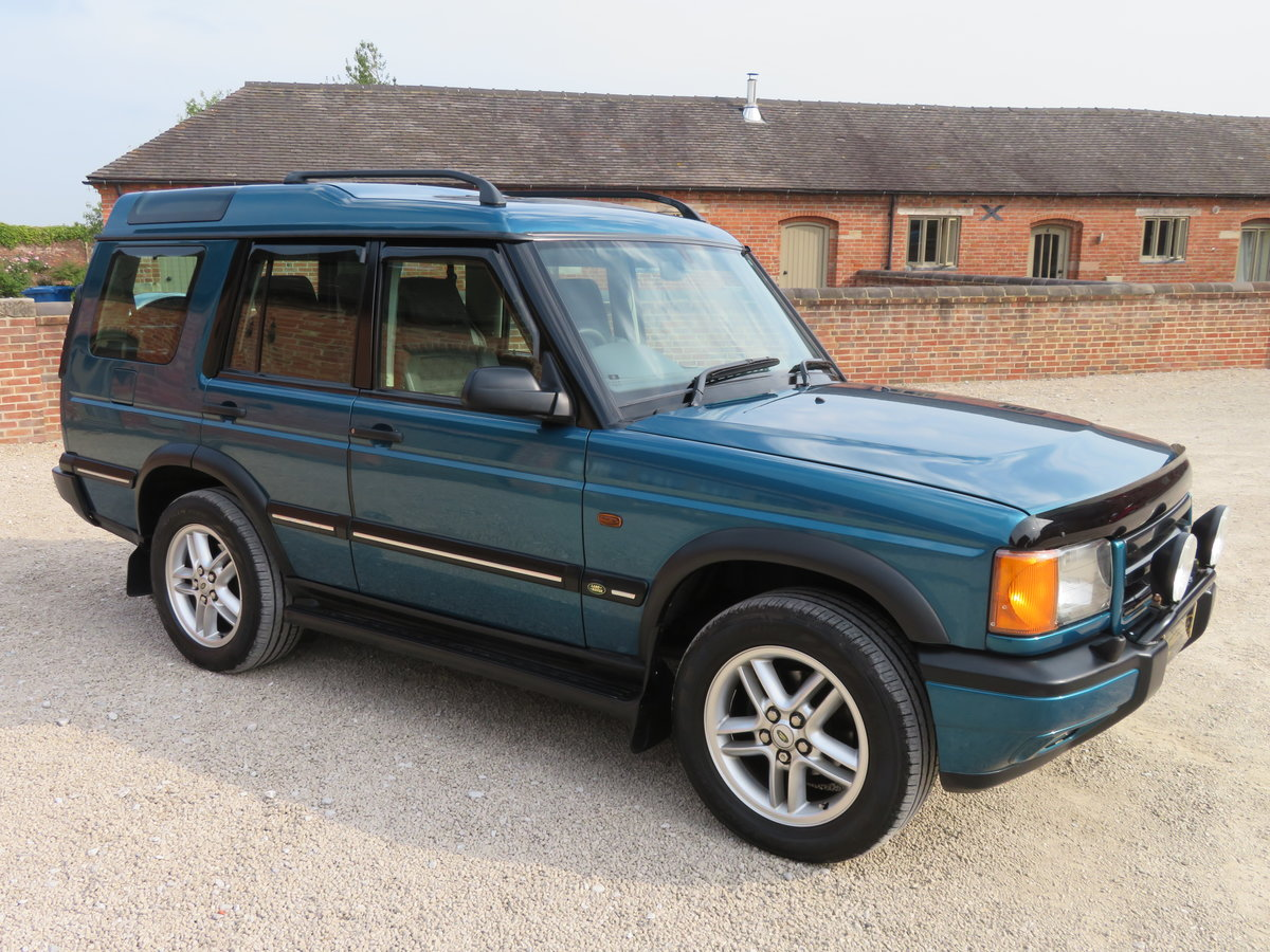 2000 DISCOVERY II V8i XS AUTO - FSH EXCELLENT ORIGINAL EXAMPLE For Sale (picture 1 of 6)