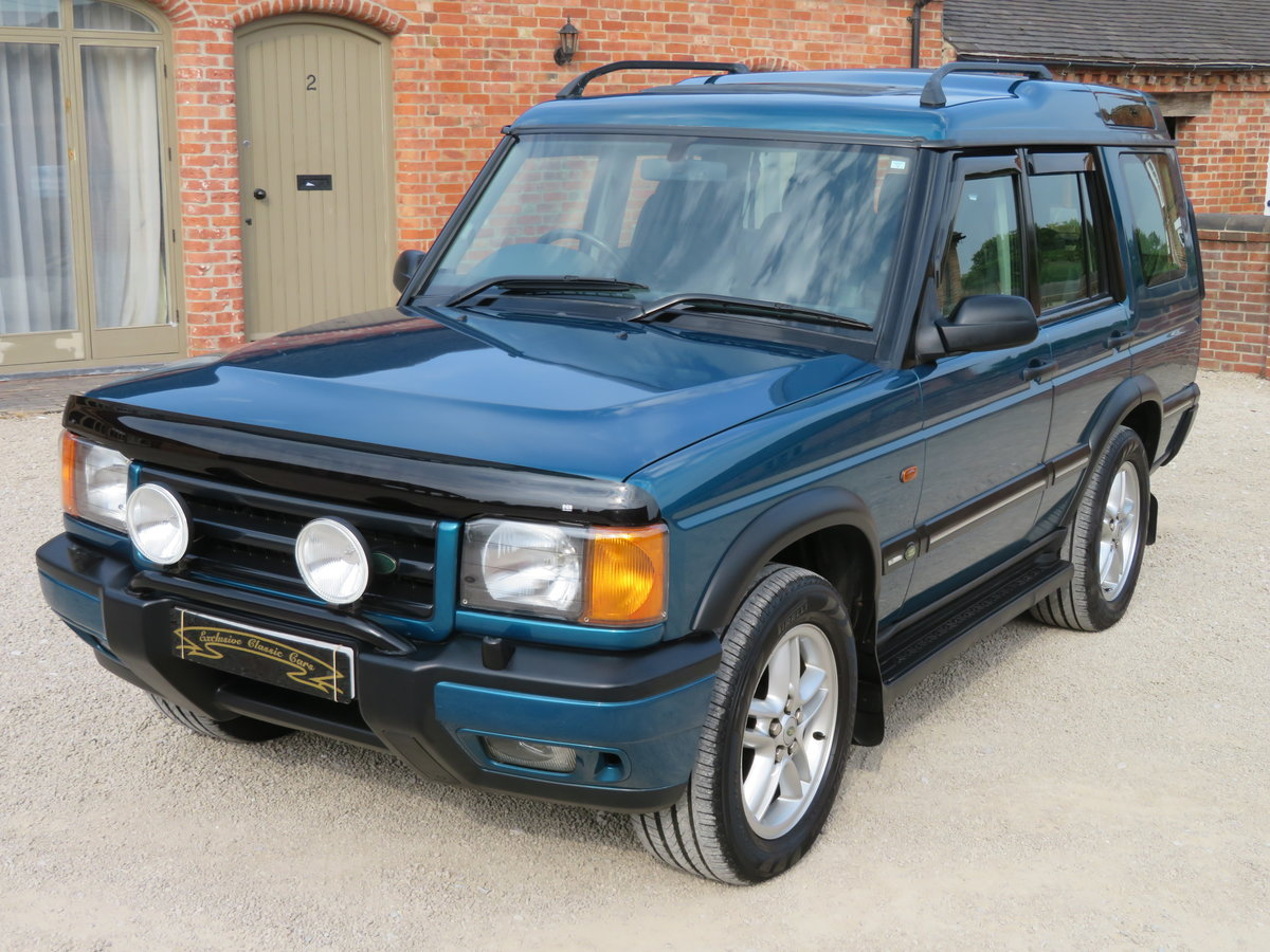 2000 DISCOVERY II V8i XS AUTO - FSH EXCELLENT ORIGINAL EXAMPLE For Sale (picture 6 of 6)